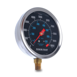 "GAUGE, 4"", UNIVRSL, FILLED, 10k/200 PSI"