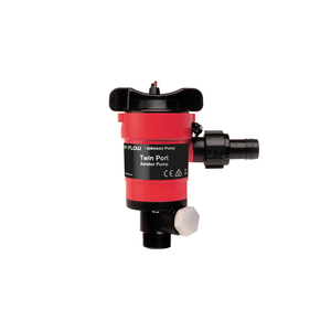 TWIN PORT AERATOR PUMP 750 GPH 12V